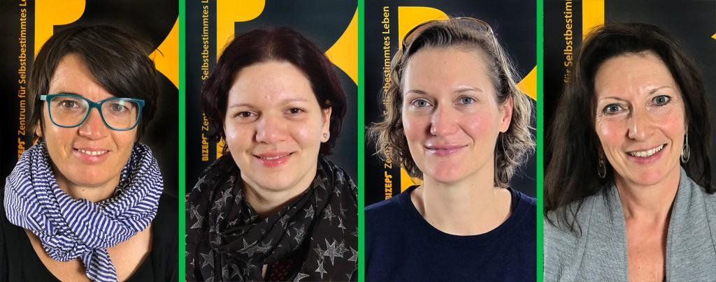 Die Interviewpartner der Radiosendung Gebärdensprachen - Sprachkultur und Inklusion von barrierefrei aufgerollt