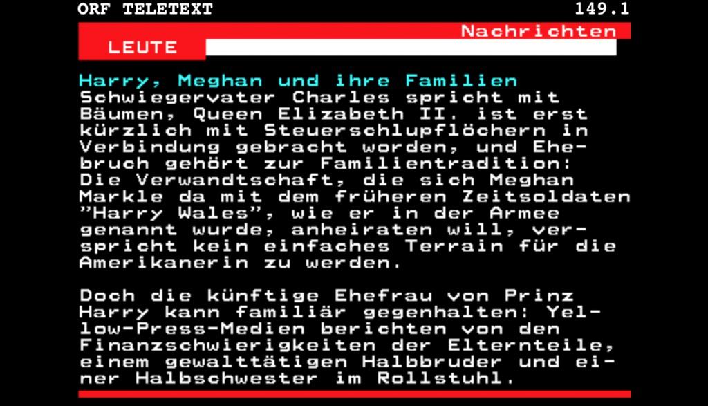 ORF-Teletext Meldung vom 20171127