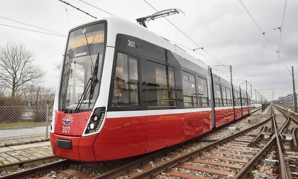 Flexity - die neue Straßenbahn für Wien