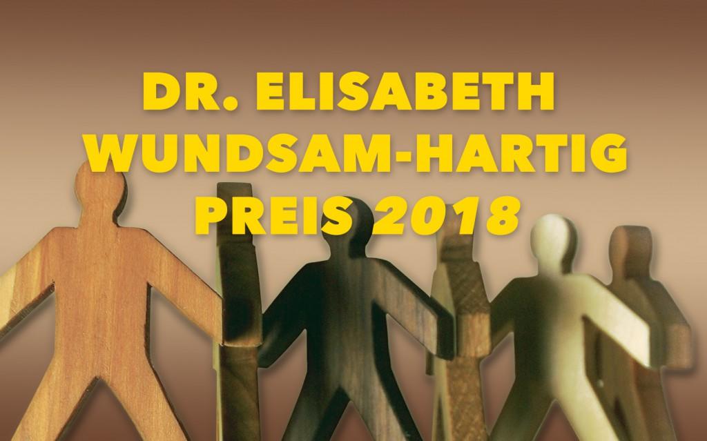 Dr. Elisabeth Wundsam-Hartig Preis 2018