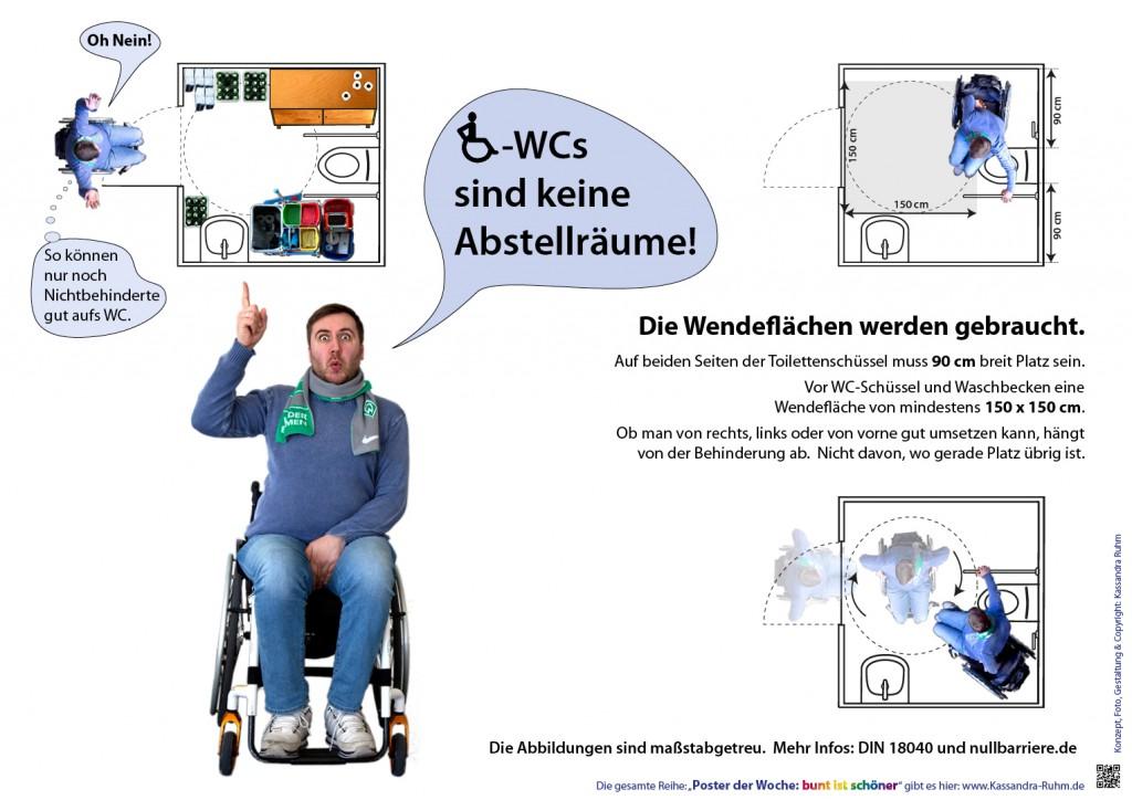 14 Woche 2018 Rollstuhl Wcs Sind Keine Abstellraume Bizeps