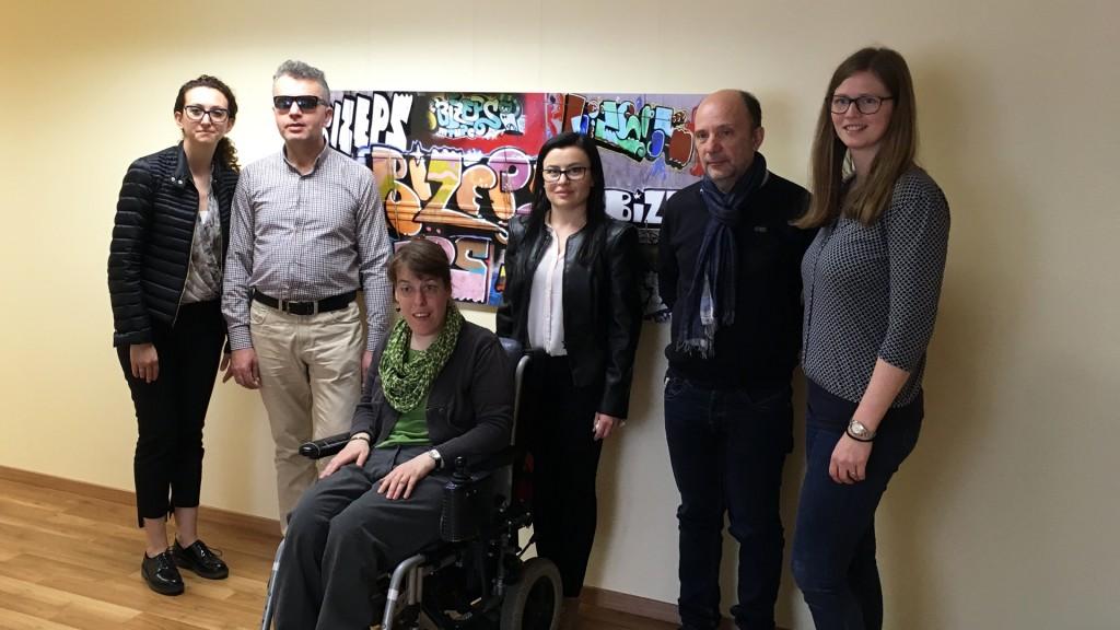 Delegation aus Albanien am 18. April 2018 bei BIZEPS