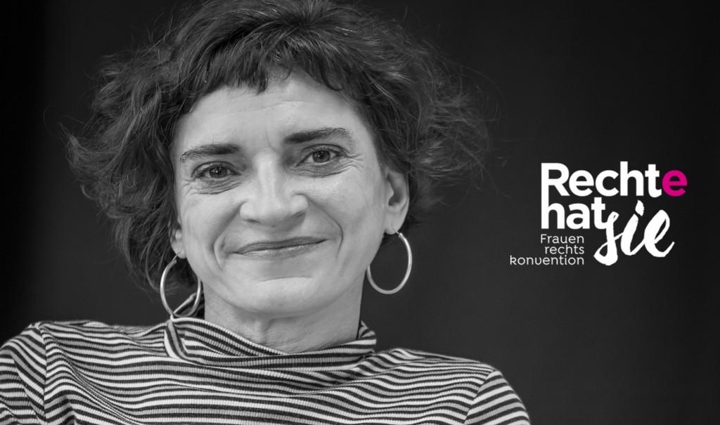 Portrait Cornelia Scheuer - Rechte hat sie / Frauenrechtskonvention
