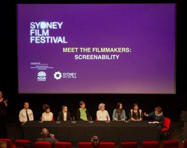 Treffen der FilmemacherInnen beim Sydney Film Festival