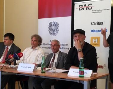 Martin Schenk, Hansjörg Hofer, Erich Fenninger