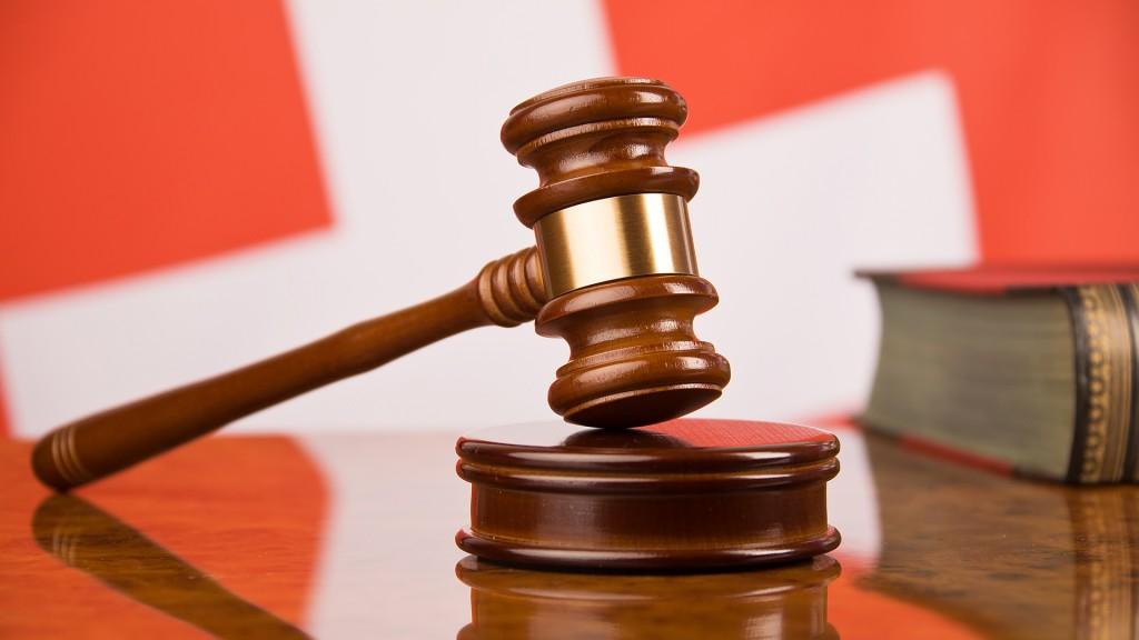 Urteil bei einem Schweizer Gericht