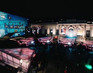 Weihnachtsmarkt im Museumsquartier