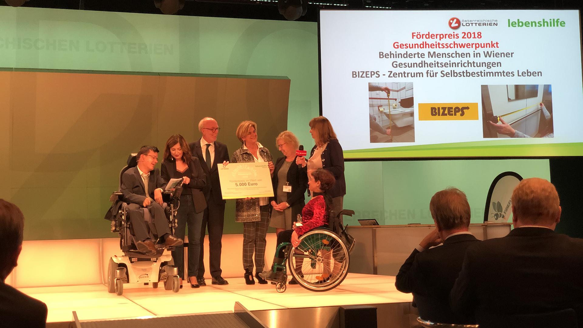 BIZEPS erhält Inklusionspreis 2018
