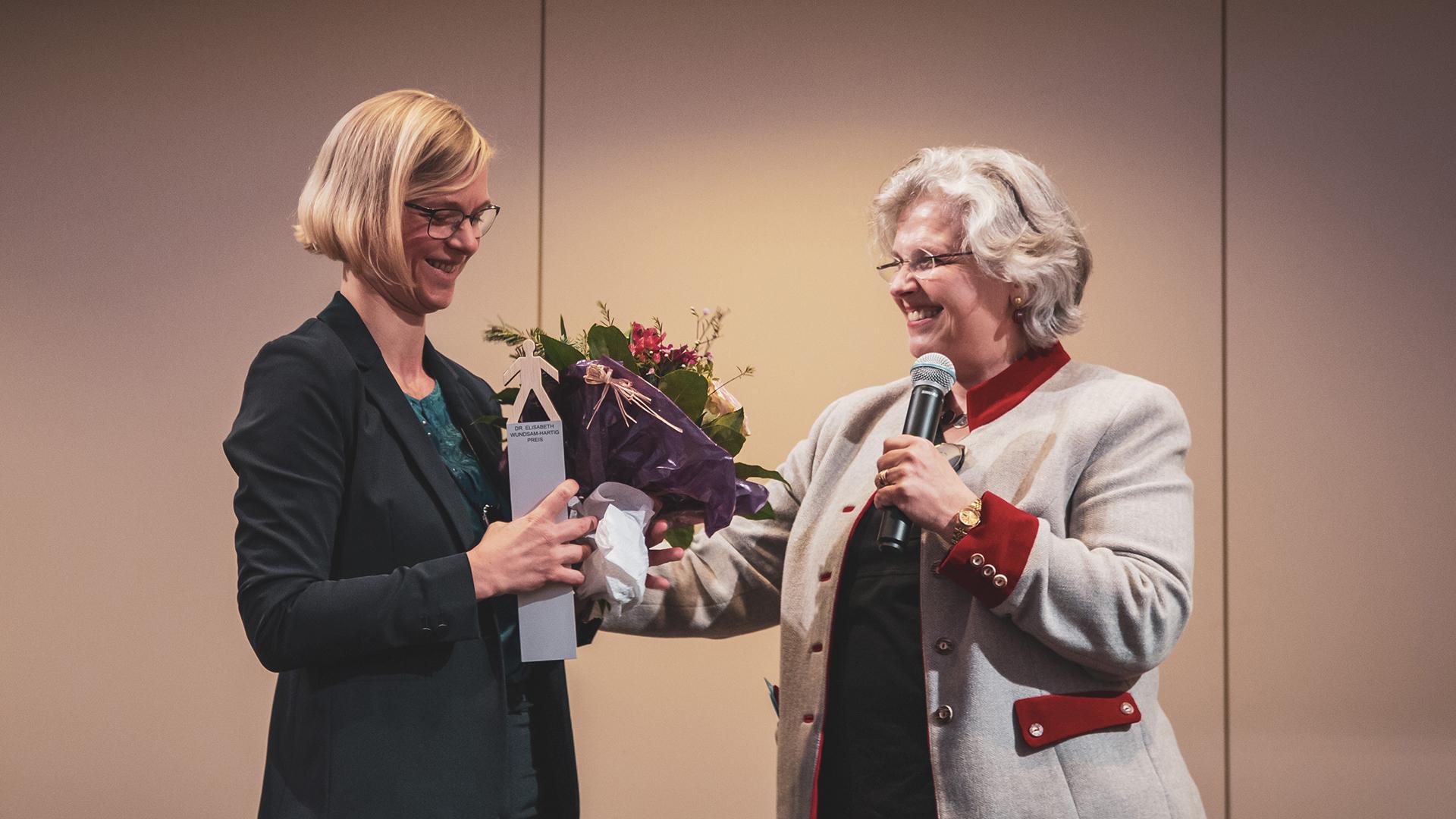 Julia Moser und Aglaë Hagg