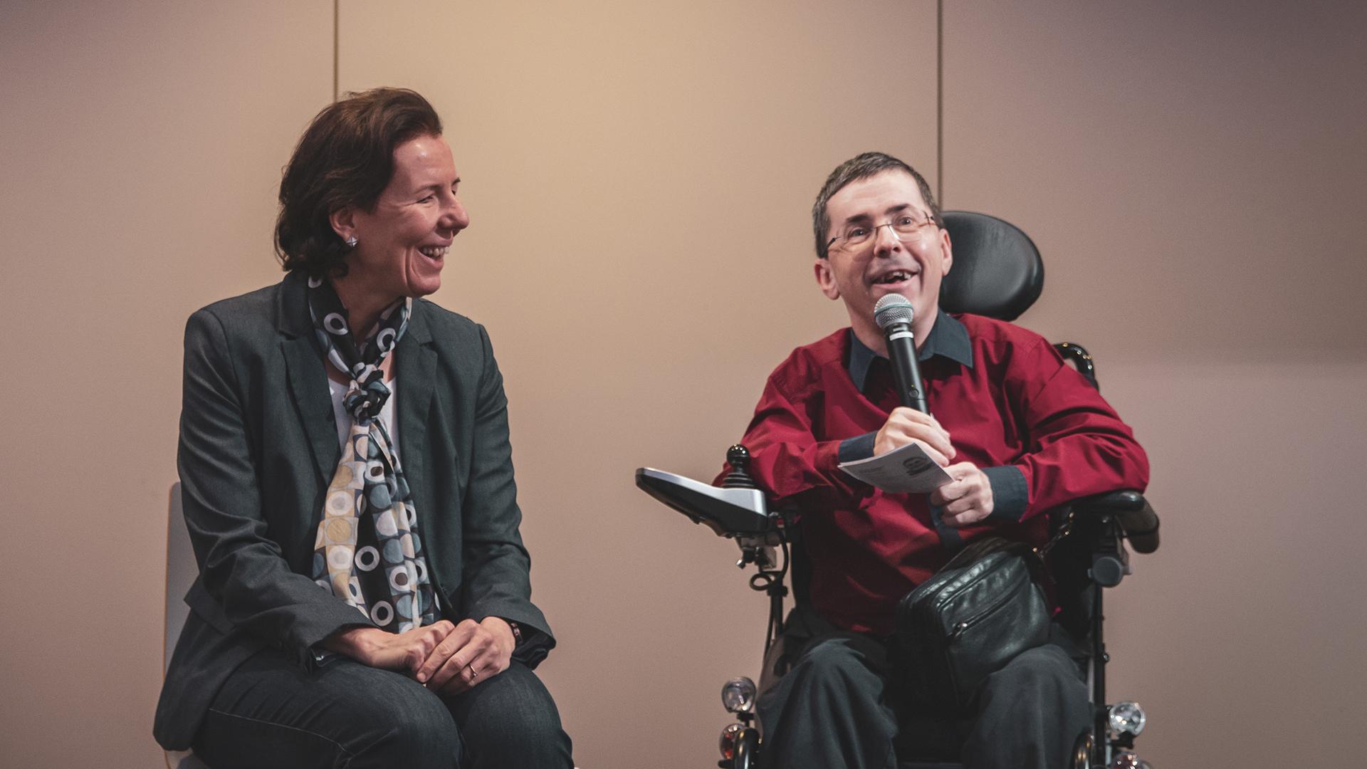 Barbara Levc und Martin Ladstätter