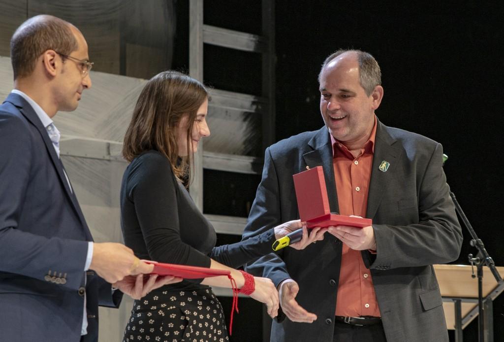 Ottmar Miles-Paul erhält die Carl-von-Ossietzky-Medaille 2018