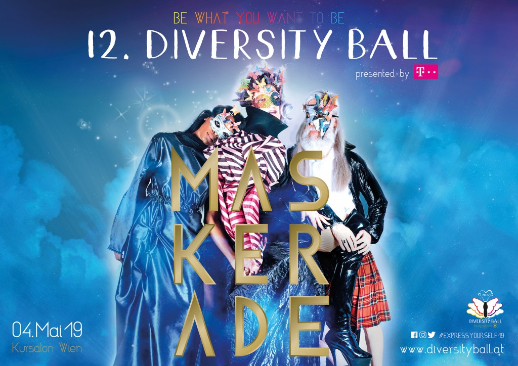 Diversityball 2018 am 4. Mai 2019