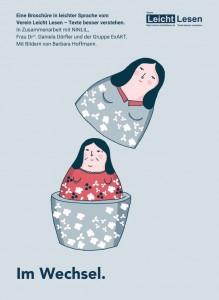 Im Wechsel: Broschüre über die Wechseljahre von Frauen in leichter Sprache
