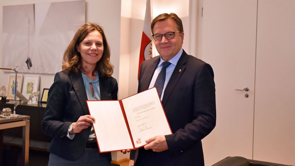 Isolde Kafka und Günther Platter