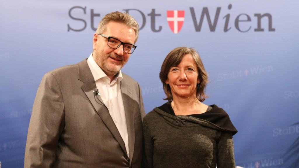 Peter Hacker und Birgit Hebein