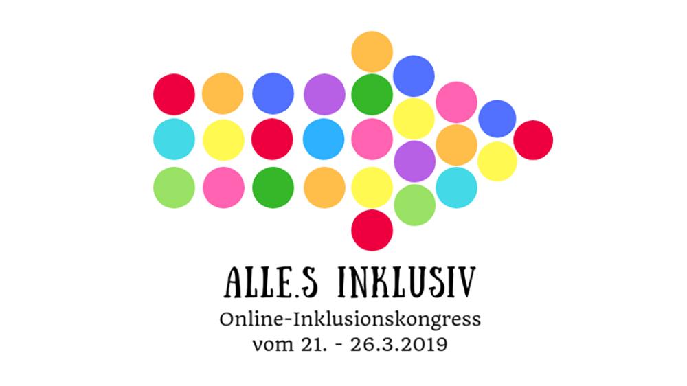 Online-Inklusionskongress vom 21. bis 26. März 2019