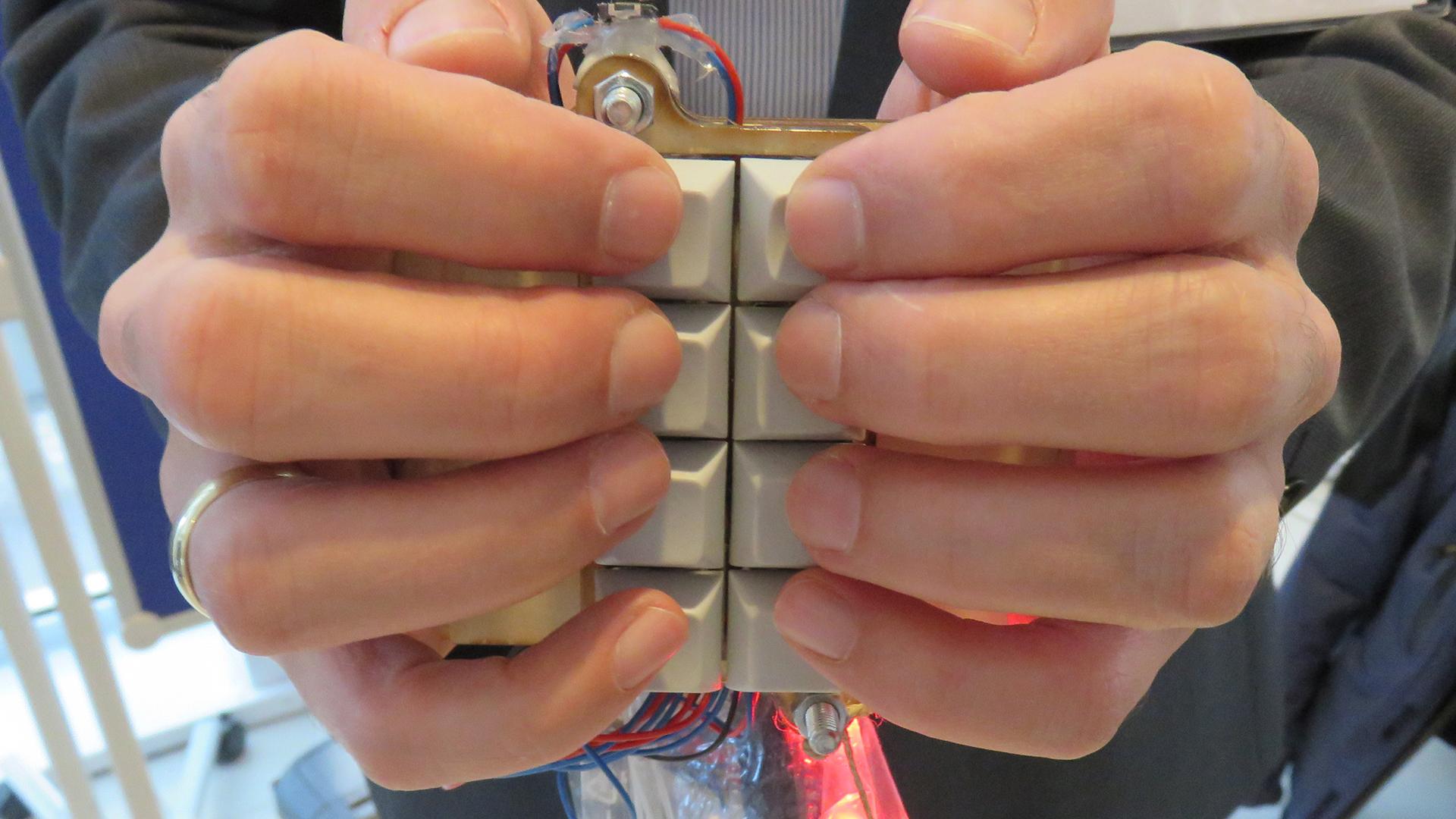 Mobile Braille-Tastatur