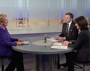 Sozialministerin Hartinger-Klein in der Pressestunden vom 3. Februar 2019