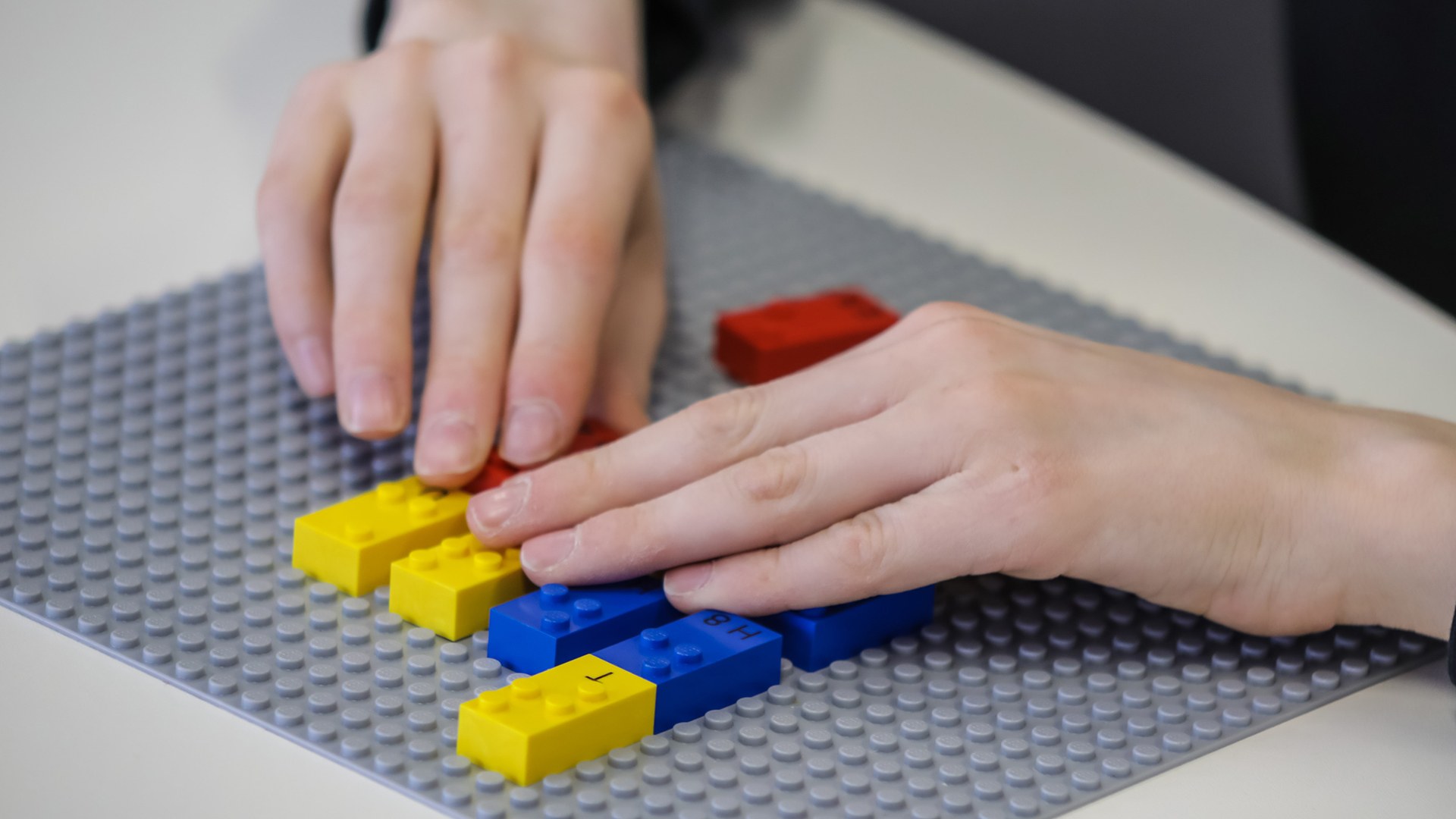 Braille Bricks von LEGO