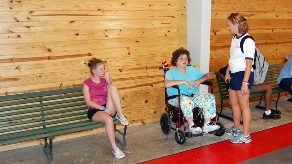 Jugendliche mit und ohne Behinderung