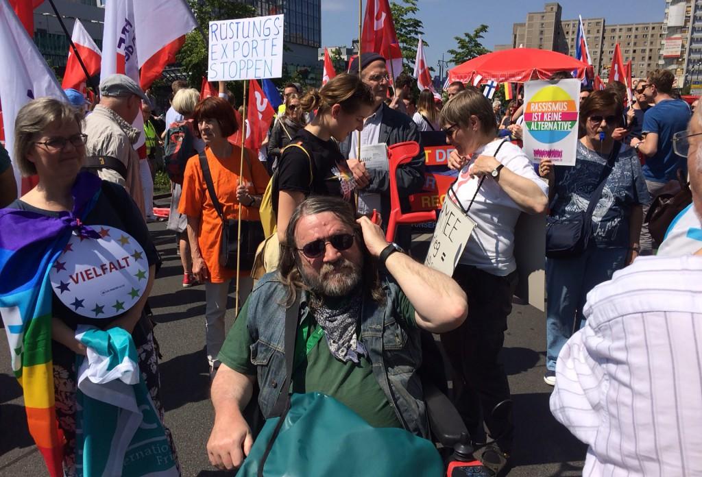 Für ein solidarisches und soziales Europa - 19. Mai 2019 am Berliner Alex