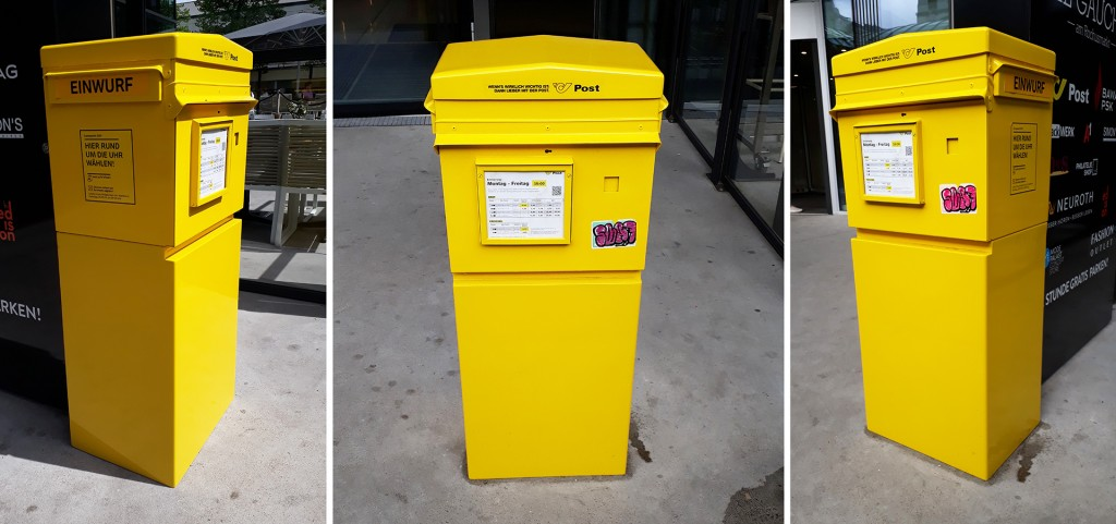Postkasten neu - Einwurfhöhe 100 cm