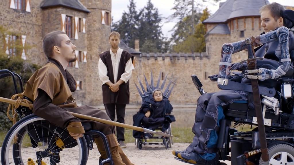 Ausschnitt aus dem Video: Serien mal anders - Rollstuhlfahrer kämpfen