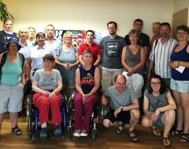 TeilnehmerInnen von umdenken Politisches Bildungswerk, Heinrich-Böll-Stiftung Hamburg e.V. im BIZEPS