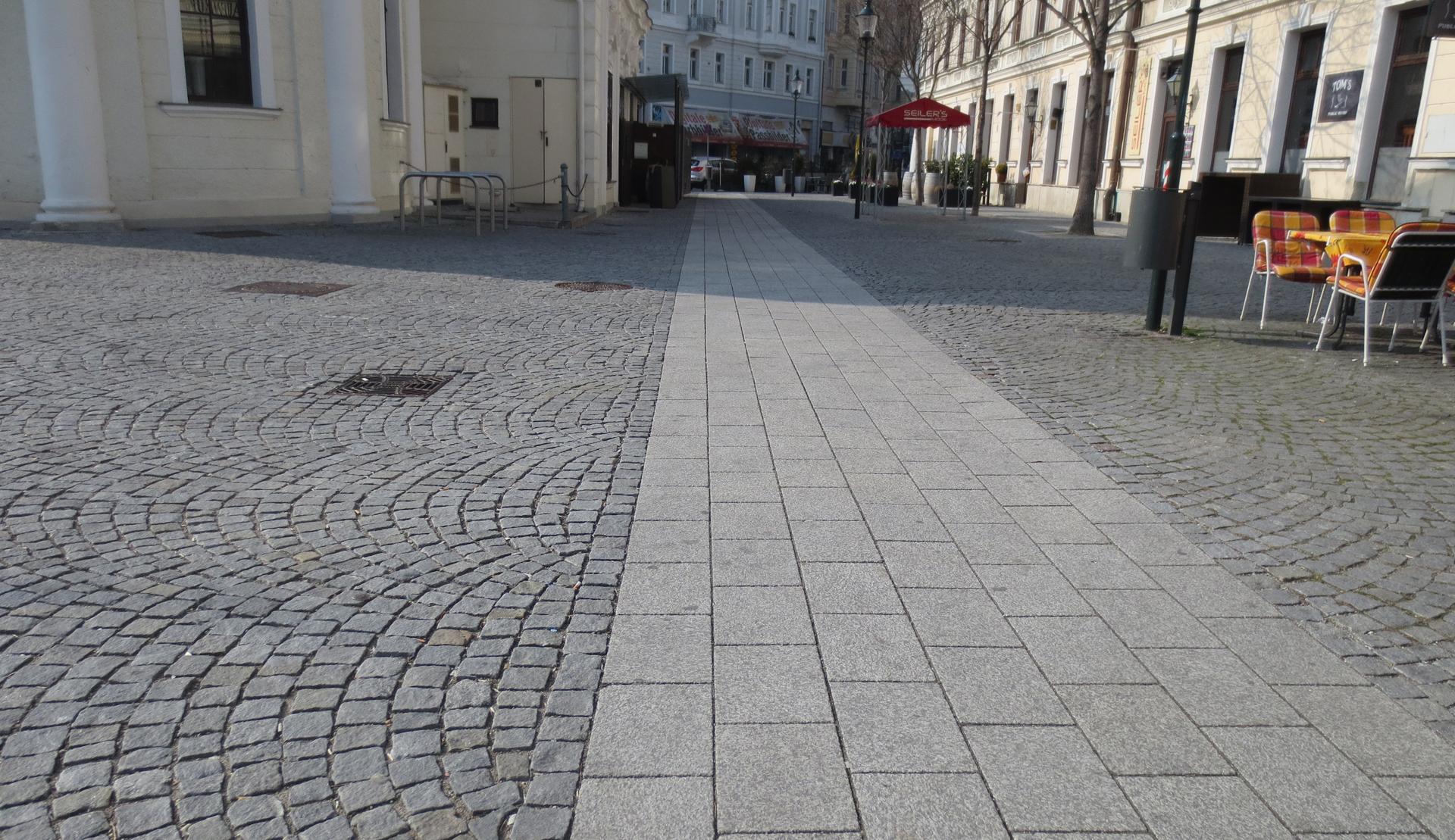 berollbarer Bereich Baden