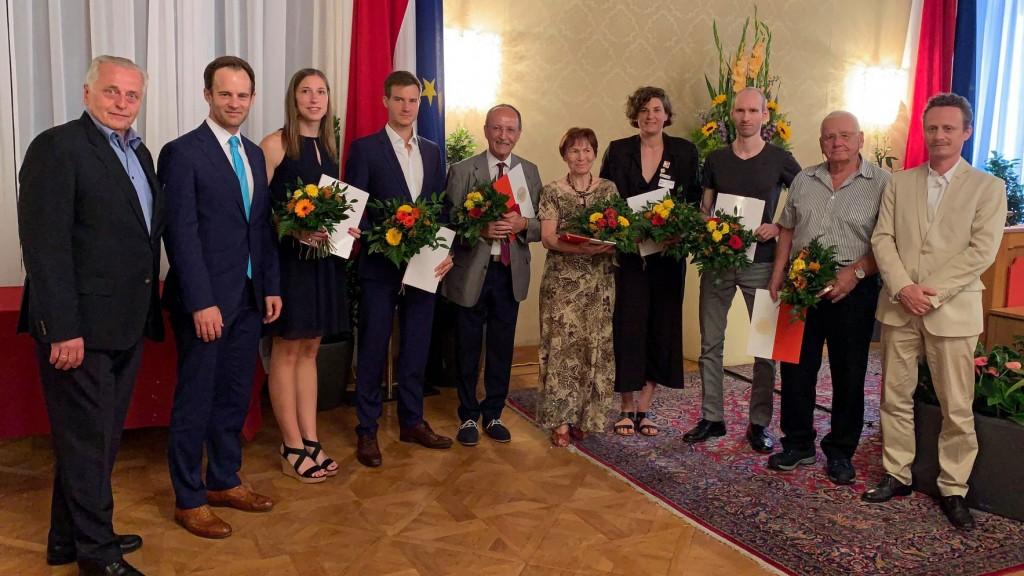 PreisträgerInnen des Wiener Sportpreis 2019