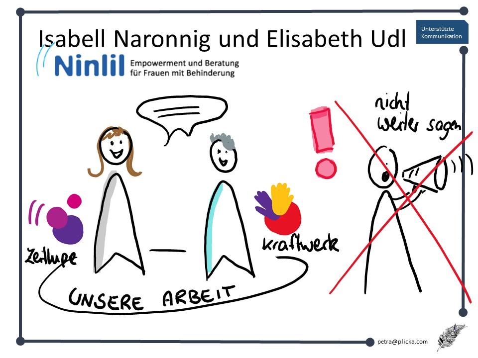 Frauenberatung bei Zeitlupe und Kraftwerk von Ninlil