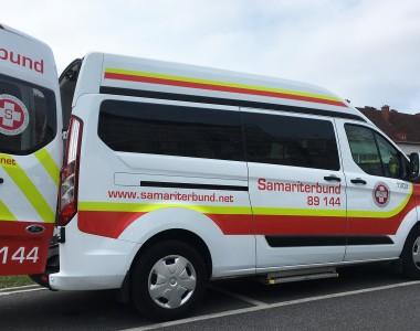 Fahrzeug des Samariterbundes