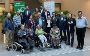 Mitglieder des Monitoringausschusses und der Monitoringstelle Wien