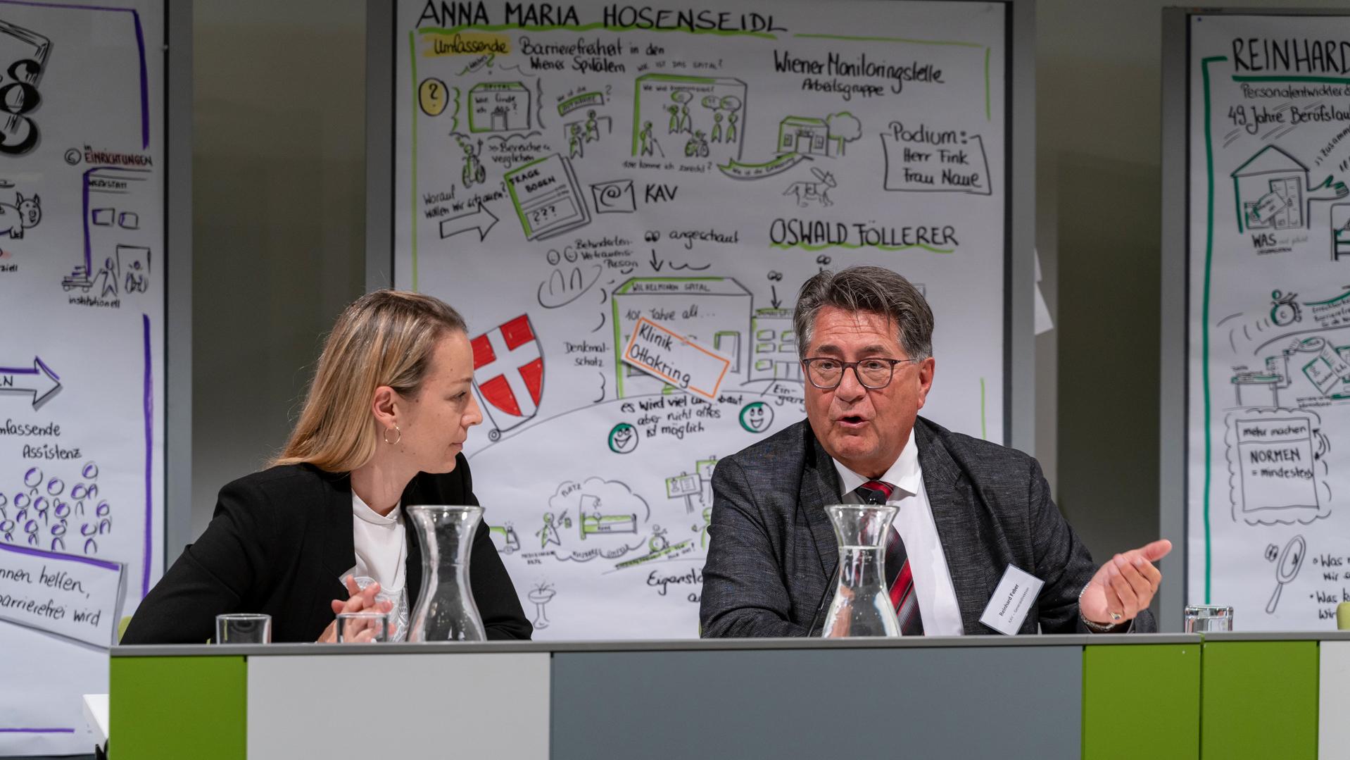 Christine Steger und Reinhard Faber
