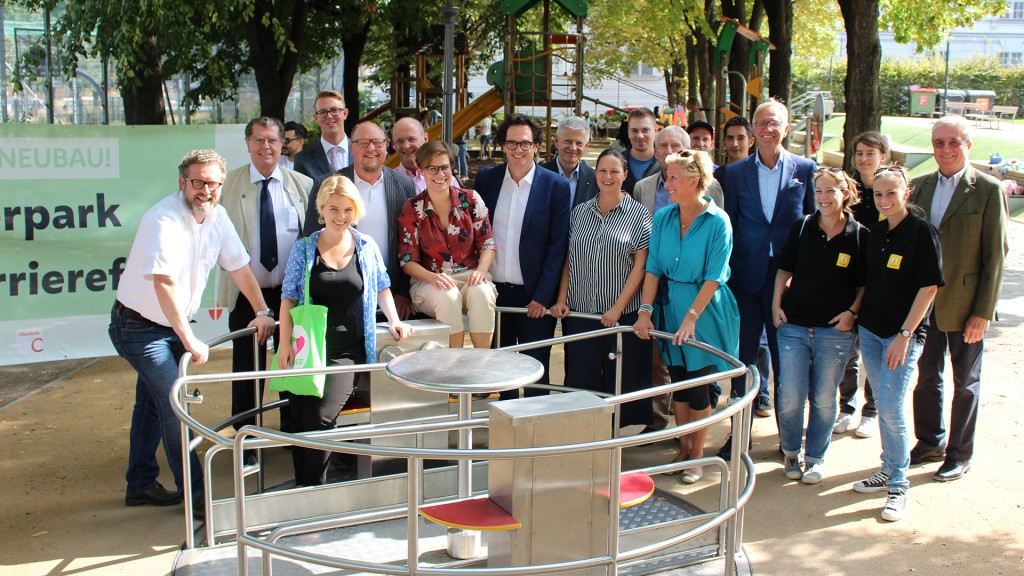 Eröffnung Inklusions-Spielplatz im Weghuberpark