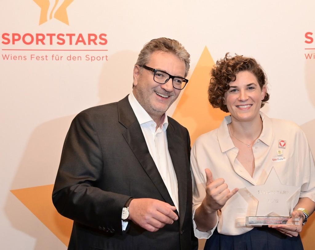 Peter Hacker und Katrin Neudolt