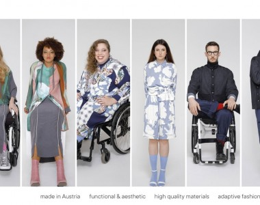 Verschiedene Personen mit Kleidung von MOB Industries