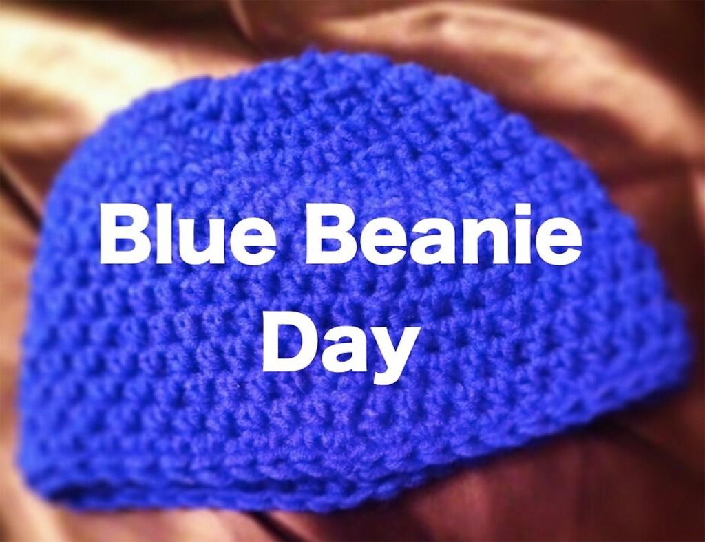 Blue Beanie Day