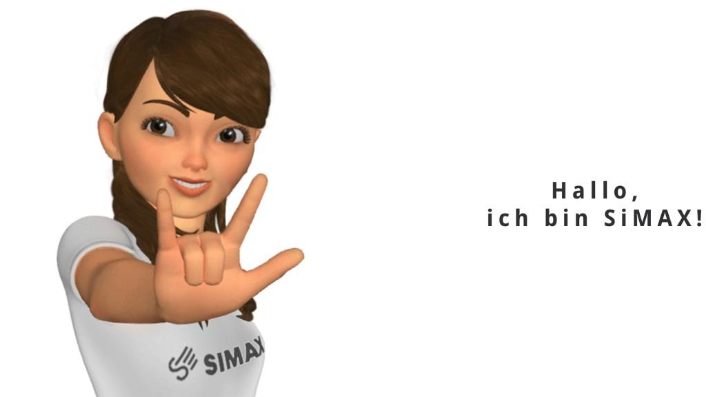 Hallo, ich bin SiMAX