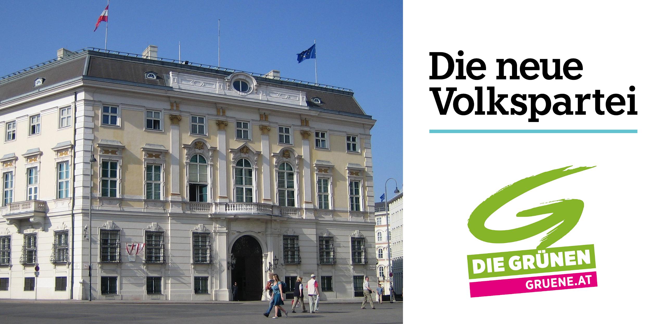 Regierung 2020 aus ÖVP und GRÜNE - Bundeskanzleramt