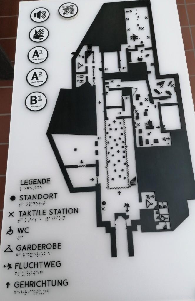 Barrierefreier Übersichtsplan - Museum Arbeitswelt Steyr
