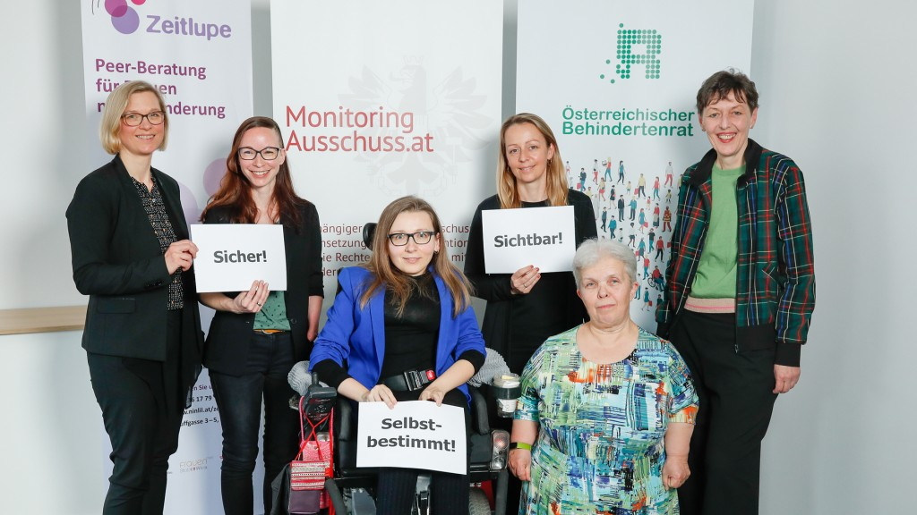Julia Moser, Isabell Naronnig, Jasna Puskaric, Christine Stege,r Beate Koch und Gabriele Sprengseis