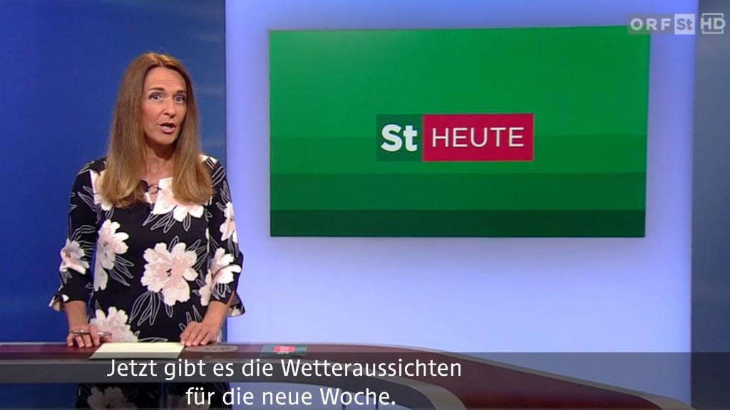 ORF Steiermark heute mit Untertitel