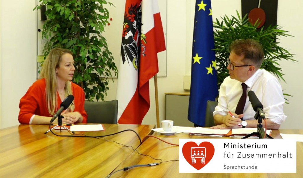 Christine Steger und Rudolf Anschober