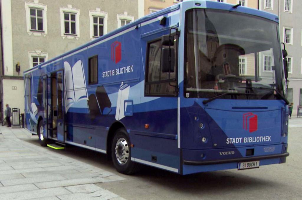 Salzburger Bücherbus