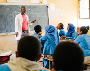 Inklusive Schulklasse in Äthiopien