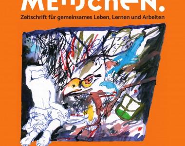 Titelbild Zeitschrift Menschen: Macht und Gewalt