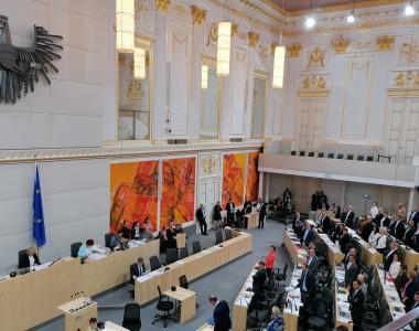 Plenum des Nationalrats / Ausweichquartier in der Hofburg
