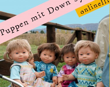 Puppen mit Down Syndrom