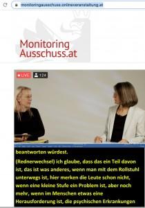Christine Steger und Petra Derler im Gespräch